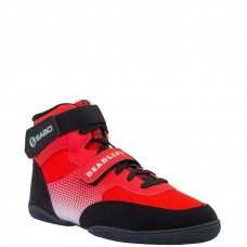 Ботинки для становой тяги Deadlift red