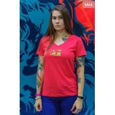 Женская футболка PowerliftingMotivation