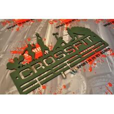 Медальница из дерева CROSSFIT